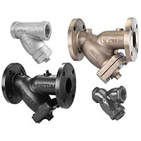 Thumbnail image of Keckley Y-strainers.