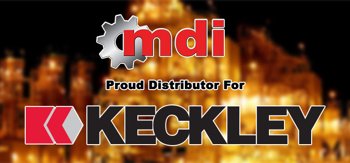 Keckley Strainers and Valves, proudly distributed by mdi